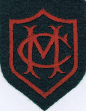 Mansfield College blazer badge | From the private collection of Steve Medway