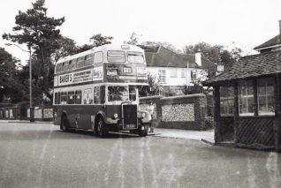 A Brighton Corporation bus at the Tivoli crescent terminus of route 51 | Martin Nimmo