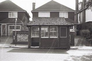 Tivoli Crescent tram shelter, Dyke Road Brighton | Photo by Martin Nimmo