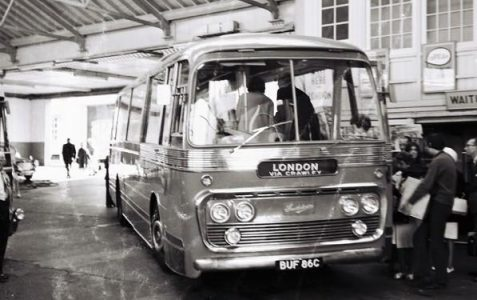 Southdown Motor Services buses