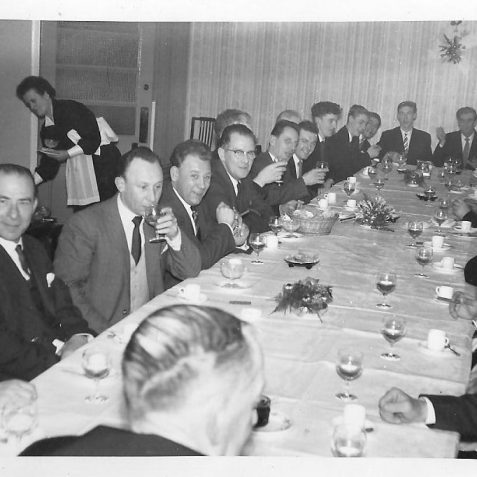 CVA Christmas Dinner | From the private collection of Henry Stenhouse