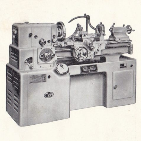 The CVA 1A Lathe, manufactured from late 1940's | From the private collection of Peter Groves