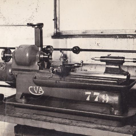 The Model 72 Lathe, manufactured from mid 1930's | From the private collection of Gil Percy