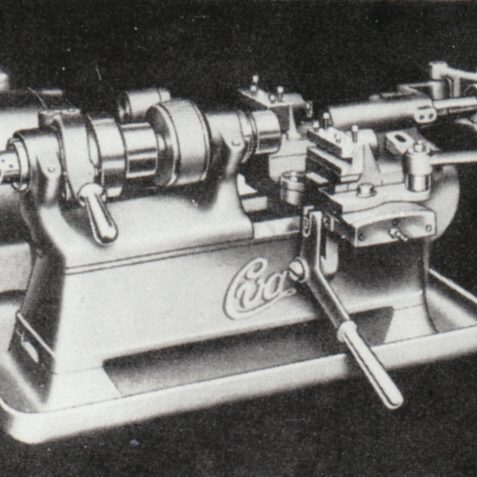 The Second Operation Lathe, manufactured from late 1930's | From the private collection of Peter Groves