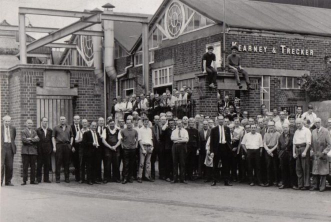 The factory's last day   Photo and text by Peter Groves (submitted to site 23-06-04)