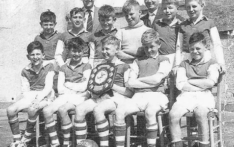 1957 winning football team