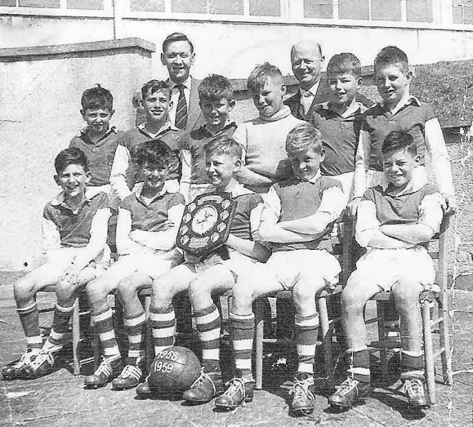 Carden Junior School 1957 football team | From the private collection of Mary Smith.