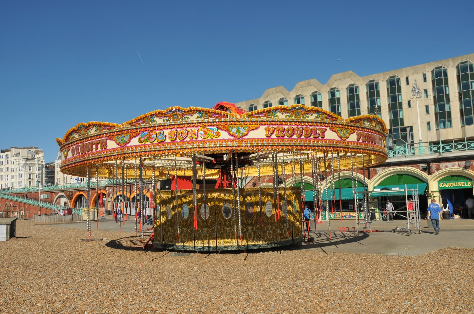 Golden Gallopers Carousel | Seafront attractions | My Brighton and Hove