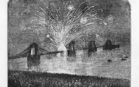 Celebration of Peace in Brighton June 1856