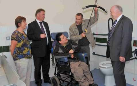 Changing Places: innovative toilet facility