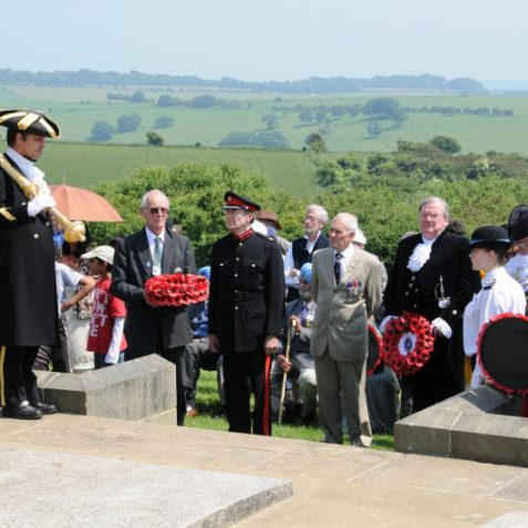 The laying of the wreaths | Photo by Tony Mould