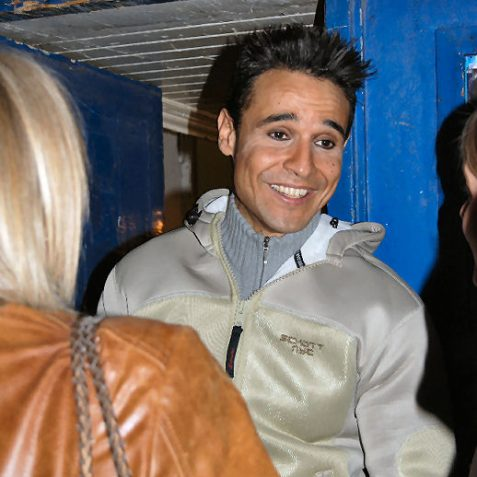 Star of the Theatre Royal pantomime Chico (from the X-Factor) signs autographs for his adoring fans | Photo by Tony Mould