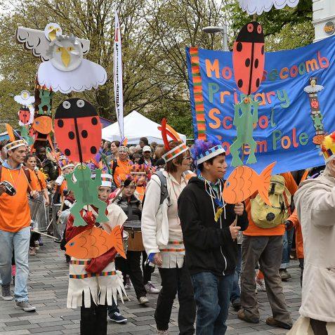 Brighton Festival Children's Parade | Photo by Tony Mould