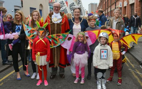 Children's Parade opens Brighton Festival