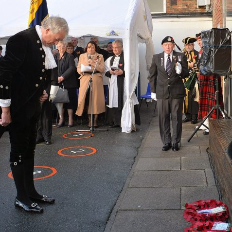 Schools' Remembrance Service   ©Tony Mould:images copyright protected