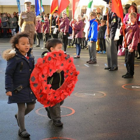 Schools' Remembrance Service | ©Tony Mould:images copyright protected