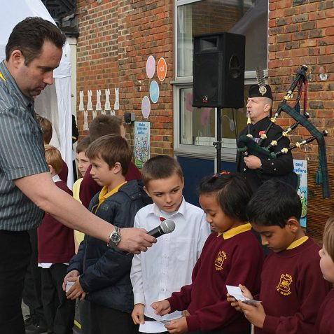 Childrens' Remembrance Ceremony | Photo by Tony Mould