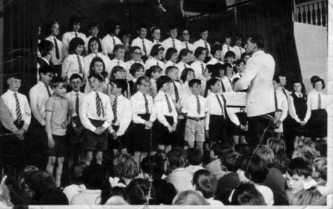 School choir c1963