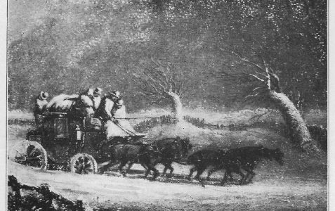 The Christmas Coach to Brighton, 1770