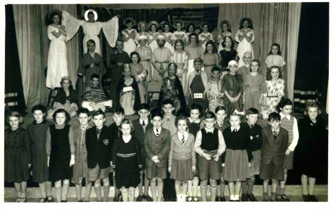 Nativity Play, Abinger Hall c1950s