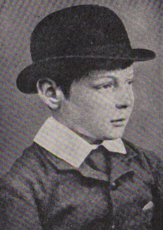 Winston Churchill C. 1884 | Taken from