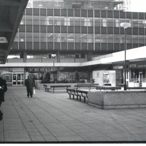 Churchill square c1968 | Photo by Rosalind Merriman