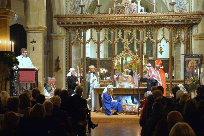St Nicholas' Brighton Civic Carol Service: click on photo to open a large version in a new window | ©Tony Mould: images copyright protected
