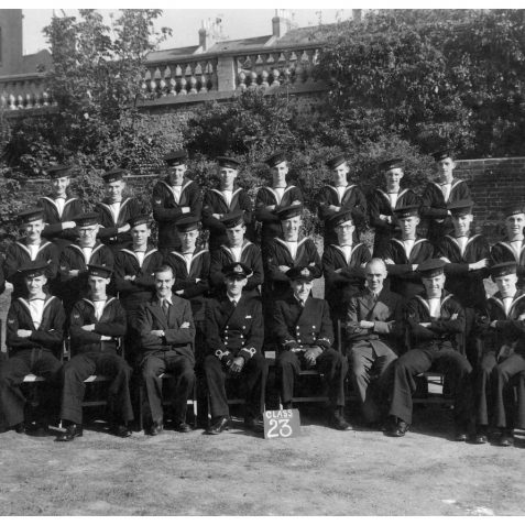 Class 23 passing out photo, the earliest one uncovered to date. | From the private collection of Mrs. Maureen Stranger