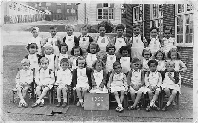 Whitehawk Primary School: class photo 1952 | From the private collection of John Brown