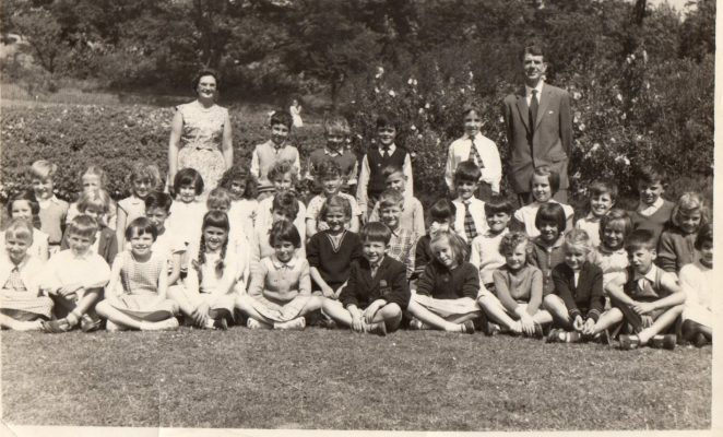 Miss Kerridge's Class 1964 | From the private collection of Mike Elmes