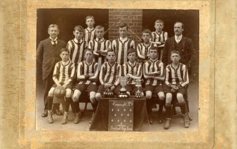 Connaught Road School Football team 1908-09