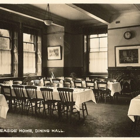 Another view of the dinning room, c. 1920s. | From the private collection of Edward Cudlip