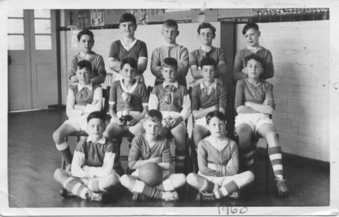 Football team 1961 | From the private collection of John Black