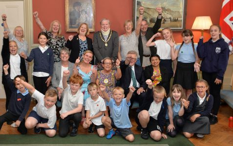 Three cheers for Coombe Road Primary School