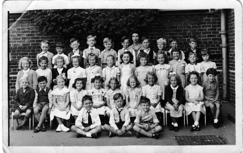Miss Connolly's class c1955/56