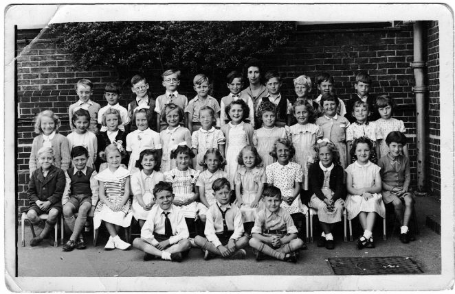 Miss Connolly's class, 1955 or 1956? | From the private collection of Janet née Keats