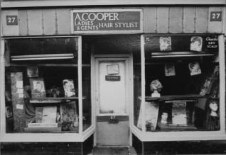 Coopers in Baker Street, unknown date. Click on the image for a large version. | From a private collection