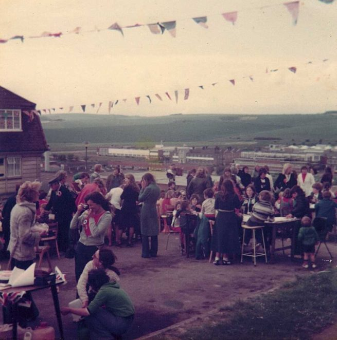 Sedgewick, Rudgewick and Chelwood Tenants Association Silver Jubilee Party | From the private collection of Laine
