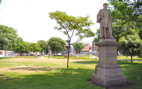 Sir John Cordy Burrows statue