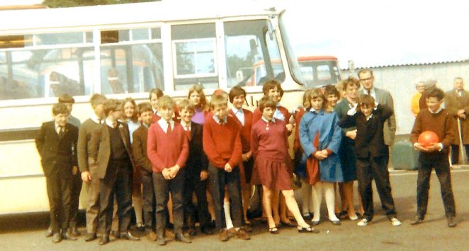 Group from Stanmer School in Cornwall 1966 | From the personal collection of Rob(Bob) Tasker