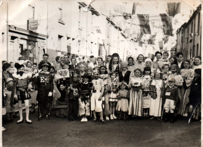New England Street Coronation party 1953 | From the private collection of Nickie Preston