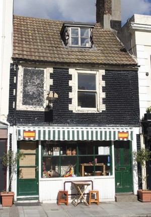 Formerly The Cottage record shop, 111 Church Street, Brighton | Photo by Debbie Lias
