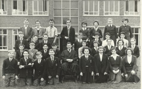 Class photograph c1957~ 1958
