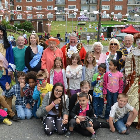 Double 60th celebrations at Craven Vale   Photo by Tony Mould
