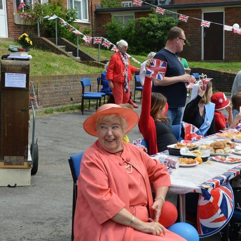 Double 60th celebrations at Craven Vale | Photo by Tony Mould