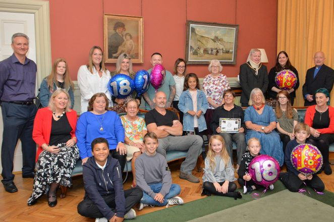Crew Club 18th birthday party | ©Tony Mould; click to open large version in a new window.