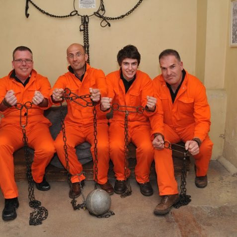 Crimestoppers Jailbreak Challenge | Photo by Tony Mould: click on image to open a large version in a new page