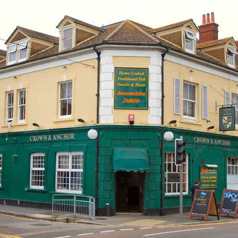 The Crown and Anchor dates back to c1711 | Photo by Tony Mould