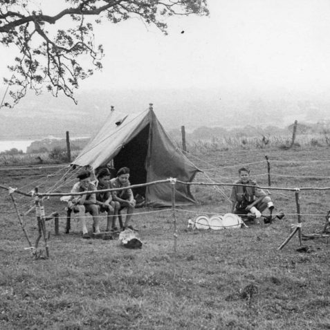 Camping at Betwys-coed, 1966 | From the private collection of Peter Whitcomb