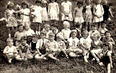 Class photo: c1954/55